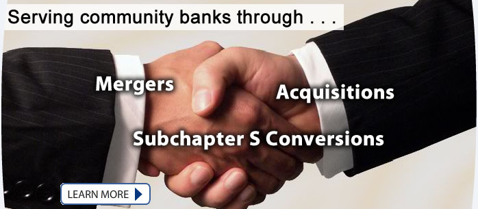 Mergers, Acquisitions & Subchapter S Conversions