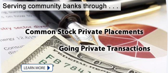 Common Stock Private Placements & Going Private Transactions